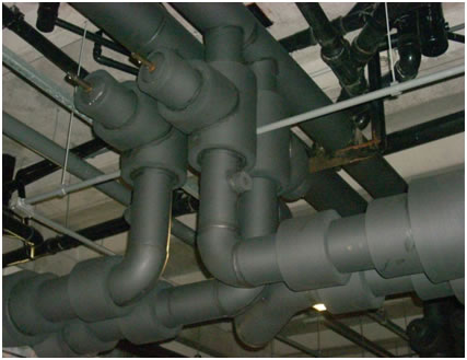 Isolante em espumas elastoméricas
