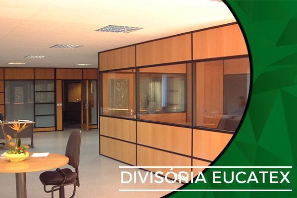 Divisória Eucatex
