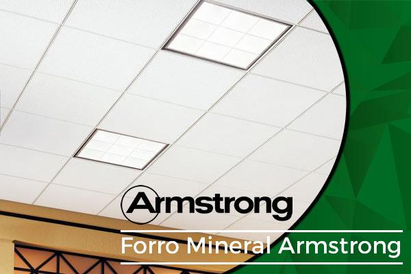 Forro Mineral Armstrong