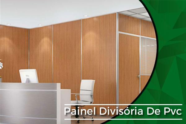 Painel Divisória de PVC